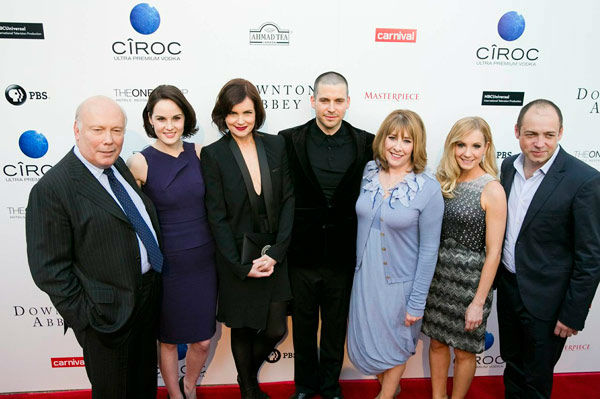 The cast of &#39;Downton Abbey&#39; appears at the An Evening with &#39;Downton Abbey&#39; event at the Television Academy in North Hollywood, California, on June 10, 2013. The event was sponsored by Ciroc Vodka.   Diddy serves as a brand ambassador for the Ciroc and he also starred in a parody of &#39;Downton Abbey,&#39; which the cast talked about at the event. <span class=meta>(Colin Young-Wolff)</span>