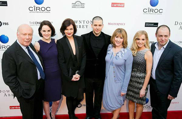 The cast of &#39;Downton Abbey&#39; appears at the An Evening with &#39;Downton Abbey&#39; event at the Television Academy in North Hollywood, California, on June 10, 2013. The event was sponsored by Ciroc Vodka.  <span class=meta>(Colin Young-Wolff)</span>