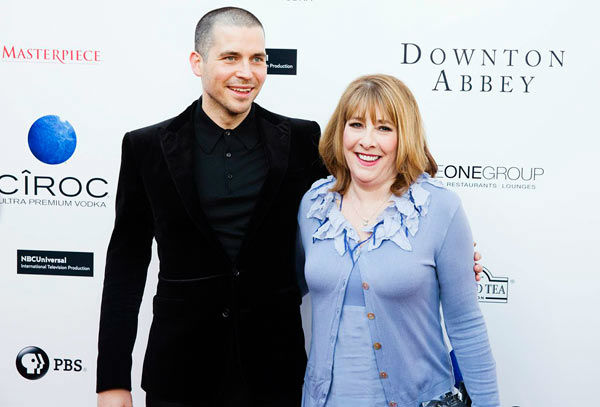 Rob James-Collier and Phyllis Logan appear at the An Evening with &#39;Downton Abbey&#39; event at the Television Academy in North Hollywood, California, on June 10, 2013. The event was sponsored by Ciroc Vodka.  <span class=meta>(Colin Young-Wolff)</span>