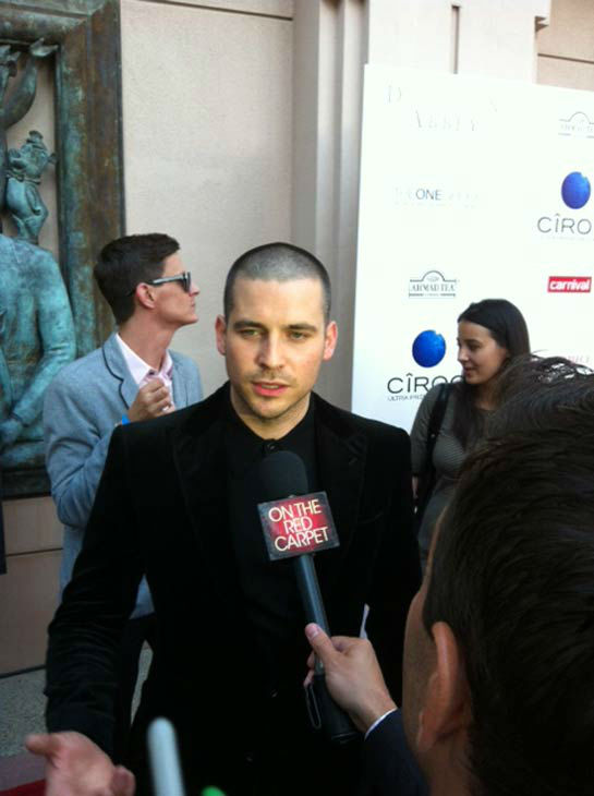 Rob James-Collier talked to OTRC.com in an interview at &#39;An Evening with &#39;Downton Abbey&#39; event on June 10, 2013. <span class=meta>(Erin Ashby)</span>