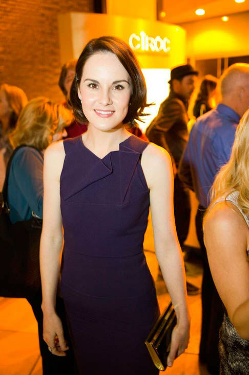"<div class=""meta ""><span class=""caption-text "">Michelle Dockery appears at the An Evening with 'Downton Abbey' event at the Television Academy in North Hollywood, California, on June 10, 2013. The event was sponsored by Ciroc Vodka. (Colin Young-Wolff)</span></div>"