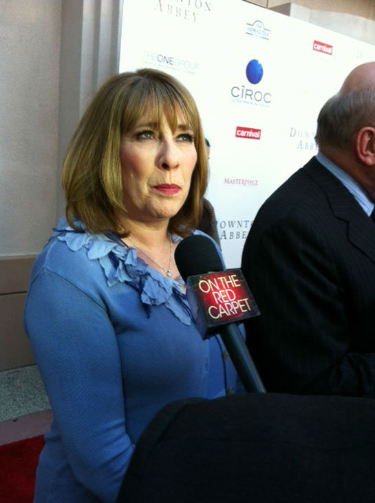 Phyllis Logan talked to OTRC.com in an interview at &#39;An Evening with &#39;Downton Abbey&#39; event on June 10, 2013. <span class=meta>(Erin Ashby)</span>