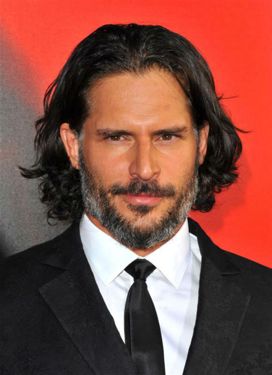 The &#39;You-Don-t-Really-Think-You-Can-Win-This-Staring-Contest-Do-You&#39; stare: Joe Manganiello appears at the premiere for season 6  of the HBO show &#39;True Blood,&#39; in which he plays the werewolf Alcide Herveaux, in Hollywood, California on June 11, 2013. <span class=meta>(Sara De Boer &#47; Startraksphoto.com)</span>
