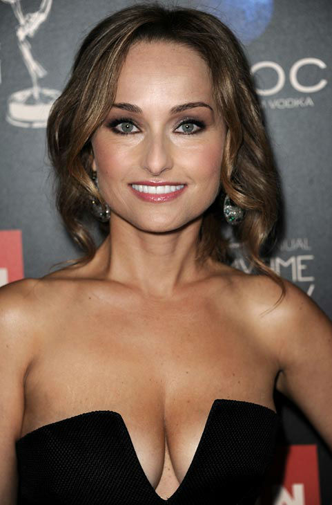 GIADA DE LAURENTIIS at the emmys