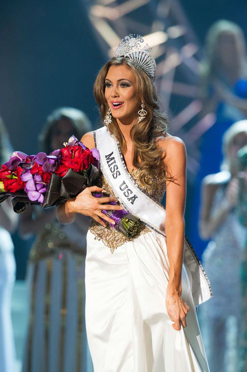 Miss Connecticut USA 2013, Erin Brady of East Hampton, is crowned Miss USA 2013 at the conclusion of the 2013 MISS USA Competition at PH Live in Las Vegas, Nevada on Sunday June 16, 2013.  <span class=meta>(Miss Universe Organization L.P. &#47; Darren Decker)</span>