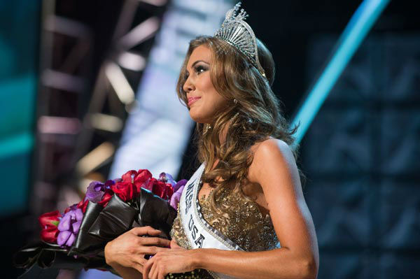 Miss Connecticut USA 2013, Erin Brady of East Hampton, is crowned Miss USA 2013 at the conclusion of the 2013 MISS USA Competition at PH Live in Las Vegas, Nevada on Sunday June 16, 2013.  <span class=meta>(Miss Universe Organization L.P. &#47; Greg Harbaugh)</span>