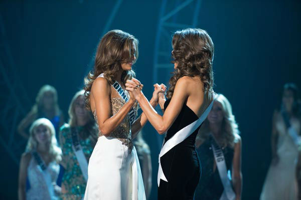 Miss Connecticut USA 2013, Erin Brady of East Hampton, is announced as Miss USA 2013 at the conclusion of the 2013 MISS USA Competition at PH Live in Las Vegas, Nevada on Sunday June 16, 2013. <span class=meta>(Miss Universe Organization L.P. &#47; Greg Harbaugh)</span>