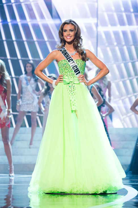 Miss Connecticut USA 2013, Erin Brady, is announced as one of the 15 finalists for Miss USA 2013 during the 2013 MISS USA Competition at PH Live in Las Vegas, Nevada on Sunday June 16, 2013. <span class=meta>(Miss Universe Organization L.P. &#47; Richard Harbaugh)</span>