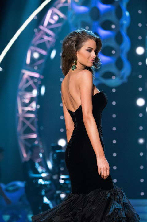 Miss Alabama USA 2013, Mary Margaret McCord, competes in her evening gown during the 2013 MISS USA Competition at PH Live in Las Vegas, Nevada on Sunday June 16, 2013. <span class=meta>(Photo&#47;Patrick Prather)</span>