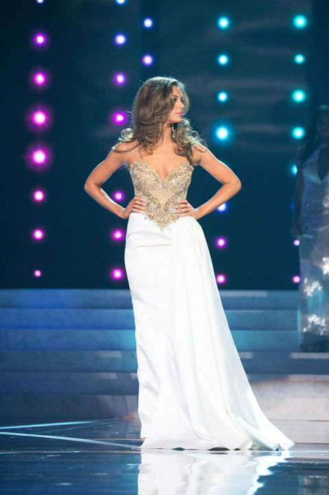 Miss Connecticut USA 2013, Erin Brady, competes in her evening gown during the 2013 MISS USA Competition at PH Live in Las Vegas, Nevada on Sunday June 16, 2013.  <span class=meta>(Photo&#47;Patrick Prather)</span>