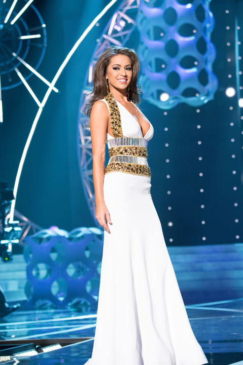 "<div class=""meta image-caption""><div class=""origin-logo origin-image ""><span></span></div><span class=""caption-text"">Miss Louisiana USA 2013, Kristen Girault, competes in her evening gown during the 2013 MISS USA Competition at PH Live in Las Vegas, Nevada on Sunday June 16, 2013.  (Photo/Patrick Prather)</span></div>"