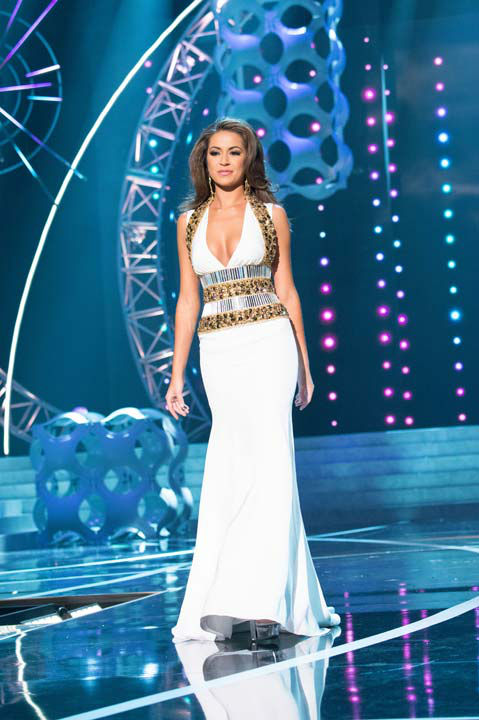 Miss Louisiana USA 2013, Kristen Girault, competes in her evening gown during the 2013 MISS USA Competition at PH Live in Las Vegas, Nevada on Sunday June 16, 2013.  <span class=meta>(Photo&#47;Patrick Prather)</span>