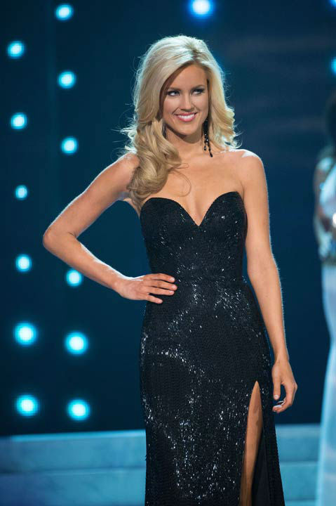 "<div class=""meta ""><span class=""caption-text "">Miss Nevada USA 2013, Chelsea Caswell, competes in her evening gown during the 2013 MISS USA Competition at PH Live in Las Vegas, Nevada on Sunday June 16, 2013.  (Photo/Patrick Prather)</span></div>"