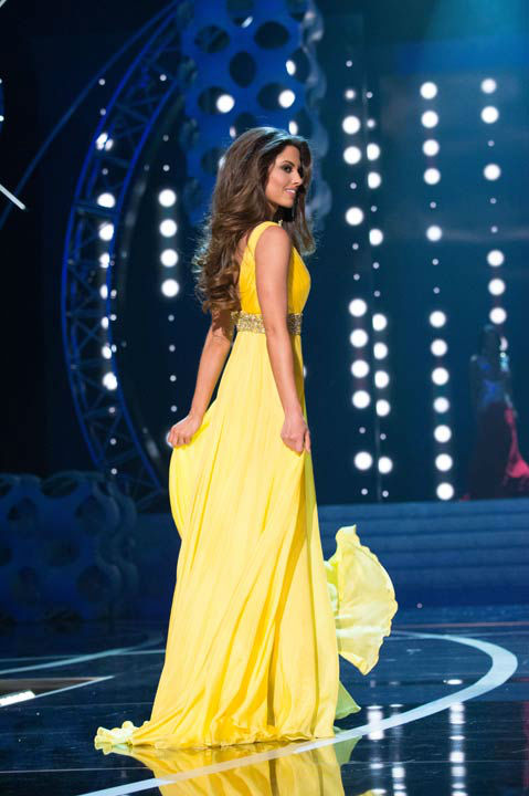 Miss Ohio USA 2013, Kristin Smith, competes in her evening gown during the 2013 MISS USA Competition at PH Live in Las Vegas, Nevada on Sunday June 16, 2013.  <span class=meta>(Photo&#47;Patrick Prather)</span>