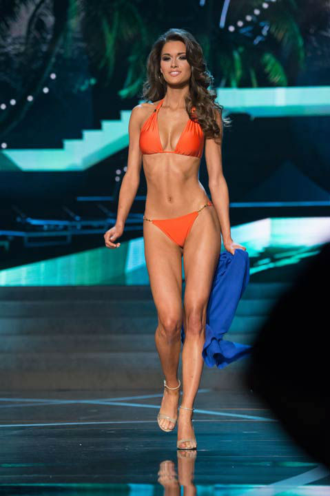 "<div class=""meta ""><span class=""caption-text "">Miss Alabama USA 2013, Mary Margaret McCord, competes in her ViX Paula Hermanny swimsuit during the 2013 MISS USA Competition at PH Live in Las Vegas, Nevada on Sunday June 16, 2013. (Photo/Richard Harbaugh)</span></div>"