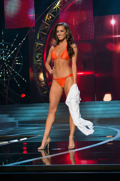"<div class=""meta image-caption""><div class=""origin-logo origin-image ""><span></span></div><span class=""caption-text"">Miss Illinois USA 2013, Stacie Juris, competes in her ViX Paula Hermanny swimsuit during the 2013 MISS USA Competition at PH Live in Las Vegas, Nevada on Sunday June 16, 2013. (Photo/Richard Harbaugh)</span></div>"