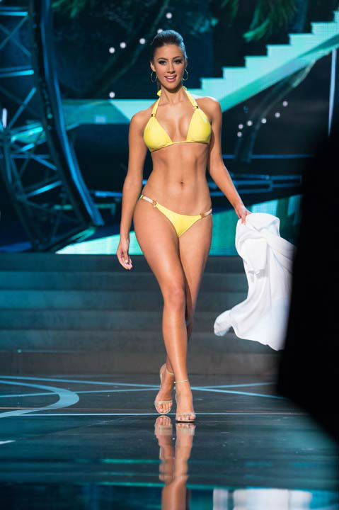 "<div class=""meta ""><span class=""caption-text "">Miss Massachusetts USA 2013, Sarah Kidd, competes in her ViX Paula Hermanny swimsuit during the 2013 MISS USA Competition at PH Live in Las Vegas, Nevada on Sunday June 16, 2013.  (Photo/Richard Harbaugh)</span></div>"