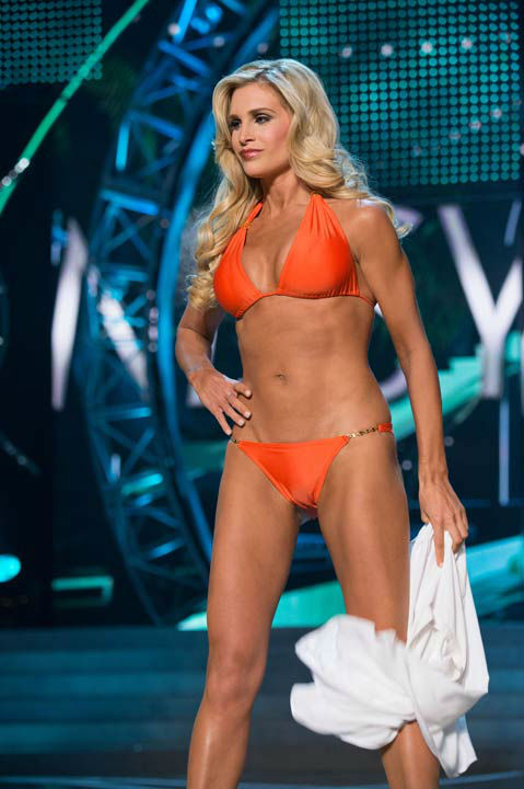 Miss Pennsylvania USA 2013, Jessica Billings, competes in her ViX Paula Hermanny swimsuit during the 2013 MISS USA Competition at PH Live in Las Vegas, Nevada on Sunday June 16, 2013.  <span class=meta>(Photo&#47;Richard Harbaugh)</span>