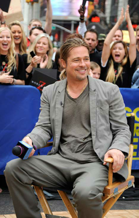 "<div class=""meta ""><span class=""caption-text "">Brad Pitt appeared on 'Good Morning America' on June 17, 2013. (ABC Photo/ Donna Svennevik)</span></div>"