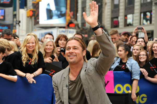 Brad Pitt appeared on 'Good Morning America' on June 17, 2013.
