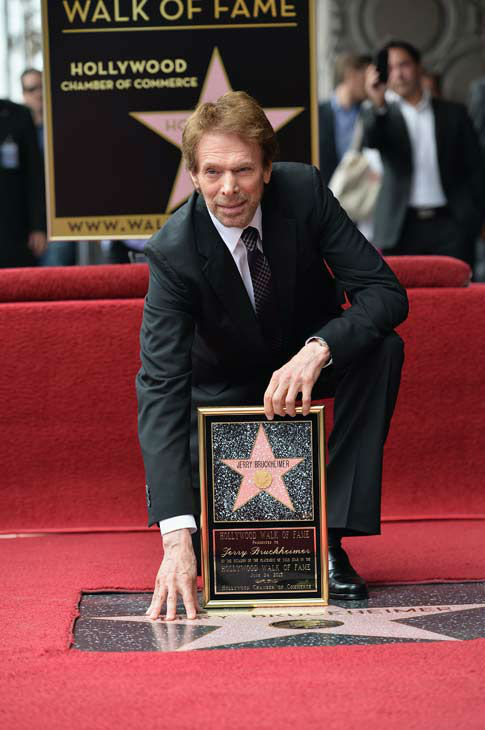 "<div class=""meta ""><span class=""caption-text "">Producer Jerry Bruckheimer attends his Hollywood Walk of Fame Star Ceremony on the Hollywood Walk of Fame on June 24, 2013 in Hollywood, California. (Alberto E. Rodriguez / Wireimage / The Walt Disney Company)</span></div>"
