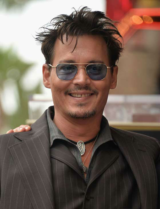 Actor Johnny Depp attends Legendary Producer Jerry Bruckheimer Hollywood Walk of Fame Star Ceremony on the Hollywood Walk of Fame on June 24, 2013 in Hollywood, California.  <span class=meta>(Alberto E. Rodriguez &#47; Wireimage &#47; The Walt Disney Company)</span>