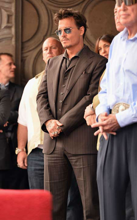 "<div class=""meta ""><span class=""caption-text "">Actor Johnny Depp attends Legendary Producer Jerry Bruckheimer Hollywood Walk of Fame Star Ceremony on the Hollywood Walk of Fame on June 24, 2013 in Hollywood, California. (Alberto E. Rodriguez / Wireimage / The Walt Disney Company)</span></div>"