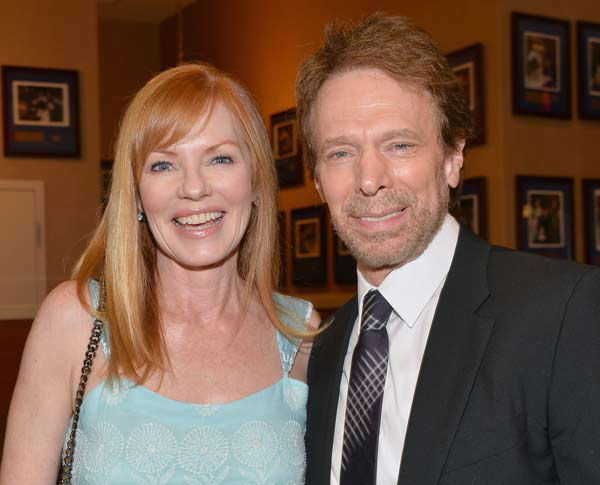 "<div class=""meta ""><span class=""caption-text "">Actress Marg Helgenberger and producer Jerry Bruckheimer attend Legendary Producer Jerry Bruckheimer Hollywood Walk of Fame Star Ceremony on the Hollywood Walk of Fame on June 24, 2013 in Hollywood, California.  (Alberto E. Rodriguez / Wireimage / The Walt Disney Company)</span></div>"