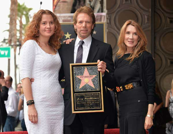 Alexandra Balahoutis, producer Jerry Bruckheimer and Linda Sue Balahoutis Bruckheimer attend Legendary Producer Jerry Bruckheimer Hollywood Walk of Fame Star Ceremony on the Hollywood Walk of Fame on June 24, 2013 in Hollywood, California.   <span class=meta>(Alberto E. Rodriguez &#47; Wireimage &#47; The Walt Disney Company)</span>