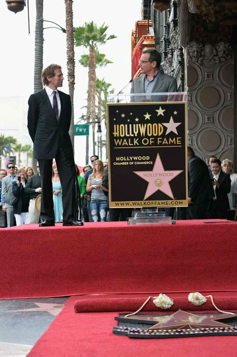 Producer Jerry Bruckheimer and The Walt Disney Company Chairman and CEO Bob Iger attend Legendary Producer Jerry Bruckheimer Hollywood Walk of Fame Star Ceremony on the Hollywood Walk of Fame on June 24, 2013 in Hollywood, California.   <span class=meta>(Alberto E. Rodriguez &#47; Wireimage &#47; The Walt Disney Company)</span>
