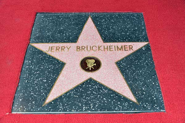 Linda Sue Balahoutis Bruckheimer and actor Tom Cruise attend Legendary Producer Jerry Bruckheimer Hollywo