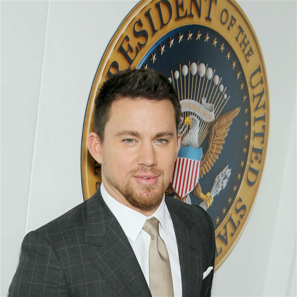 The &#39;Stare-With-a-Seal-of-Approval&#39; stare: Channing Tatum appears at the premiere of &#39;White House Down&#39; in New York on June 25, 2013. <span class=meta>(Marion Curtis &#47; Startraksphoto.com)</span>