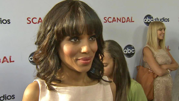 &#39;I am endlessly grateful to Shonda Rhimes and the entire cast and crew of &#39;Scandal.&#39; It is humbling to be nominated in the company of such extraordinarily talented and accomplished women and I am thankful to the Academy for this honor and privilege.&#39; - Kerry Washington on receiving a Primetime Emmy nomination for Outstanding Lead Actress In A Drama Series for &#39;Scandal.&#39; &#40;Pictured: Kerry Washington talks to OTRC.com at the &#39;Scandal&#39; event at the Academy of Television Arts and Sciences on May 16, 2013.&#41;  <span class=meta>(OTRC)</span>
