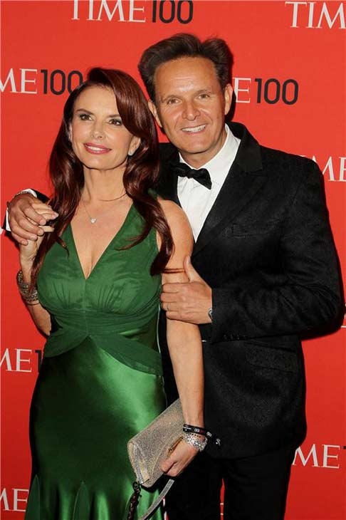 &#39;We are honored that our peers have nominated &#39;THE BIBLE&#39; for an Emmy. We are thrilled we get to share this nomination with our tremendous cast and crew from all around the world who worked so hard with us to bring the epic story of the bible to the screen.&#39;   - &#39;THE BIBLE&#39; producers Roma Downey and Mark Burnett on the miniseries receiving three Primetime Emmy nominations, including a nod for Outstanding Miniseries or Movie.   &#40;Pictured: Mark Burnett and wife Roma Downey at the 2013 TIME 100 Gala on April 23, 2013.&#41; <span class=meta>(Amanda Schwab&#47;Startraksphoto.com)</span>