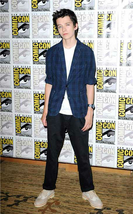 Asa Butterfield appears at the &#39;Ender&#39;s Game&#39; panel at San Diego Comic-Con on July 18, 2013. <span class=meta>(Daniel Robertson&#47;startraksphoto.com)</span>