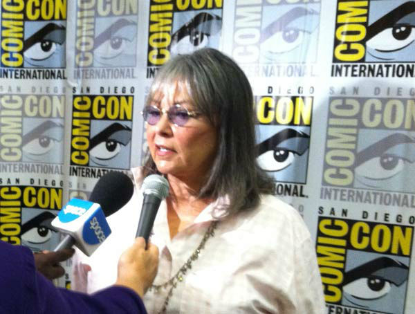 Roseanne Barr appears at San Diego Comic-Con on July 18, 2013. <span class=meta>(OTRC)</span>