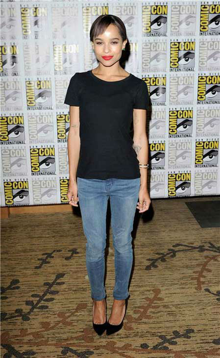 Zoe Kravitz appears at the &#39;Divergent&#39; panel at San Diego Comic-Con on July 18, 2013. <span class=meta>(Daniel Robertson&#47;startraksphoto.com)</span>