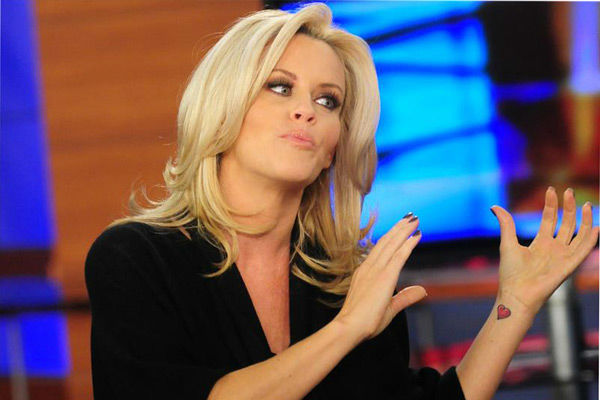 Pictured: Jenny McCarthy visiting FOX 11's 'Good Day LA' i