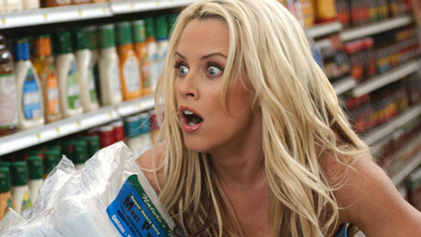 Pictured: Jenny McCarthy in the 2005 comedy film 'Dirty Love.'