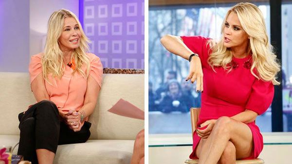 "<div class=""meta image-caption""><div class=""origin-logo origin-image ""><span></span></div><span class=""caption-text"">On her rumored feud with comedienne and 'Chelsea Lately' host Chelsea Handler, McCarthy told Howard Stern:  'I'm very good friends with her. She's not mad at me, I'm not mad at her. We're good friends.'  (Pictured: Chelsea Handler appearing on NBC's 'Today' show on Sept. 28, 2012 and Jenny McCarthy appearing on NBC's 'Today' show on Feb. 4, 2013.) (Photos: Peter Kramer/NBC)</span></div>"