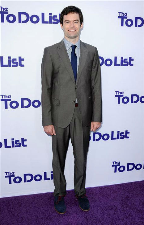 Bill Hader appears at the Los Angeles premiere of &#39;The To Do List&#39; on July 23, 2013. <span class=meta>(Sara De Boer&#47;startraksphoto.com)</span>