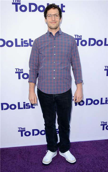"<div class=""meta image-caption""><div class=""origin-logo origin-image ""><span></span></div><span class=""caption-text"">Andy Samberg appears at the Los Angeles premiere of 'The To Do List' on July 23, 2013. (Sara De Boer/startraksphoto.com)</span></div>"