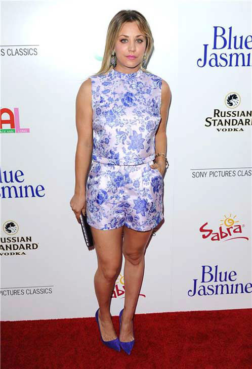 "<div class=""meta image-caption""><div class=""origin-logo origin-image ""><span></span></div><span class=""caption-text"">Kaley Cuoco appears at the Los Angeles premiere of 'Blue Jasmine' on July 24, 2013. (Sara De Boer/startraksphoto.com)</span></div>"