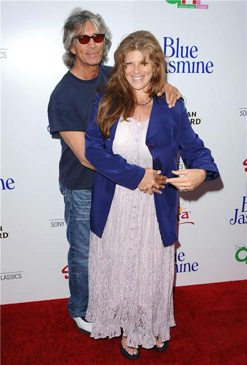 Eric Roberts and Eliza Roberts appear at the Los Angeles premiere of 'Blue Jasmine' on July 24, 2013.
