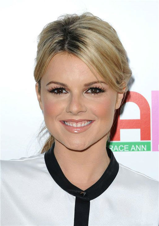 Ali Fedotowsky appears at the Los Angeles premiere of 'Blue Jasmine' on July 24, 2013.