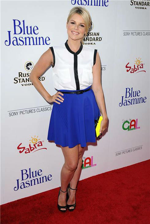"<div class=""meta image-caption""><div class=""origin-logo origin-image ""><span></span></div><span class=""caption-text"">Ali Fedotowsky appears at the Los Angeles premiere of 'Blue Jasmine' on July 24, 2013. (Sara De Boer/startraksphoto.com)</span></div>"