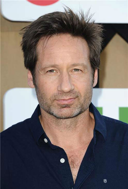 David Duchovny, star of the Showtime series &#39;Californication,&#39; posed for photographers at the CBS, CW and Showtime TCA event in Beverly Hills, California on July 29, 2013. <span class=meta>(Sara De Boer&#47;startraksphoto.com)</span>
