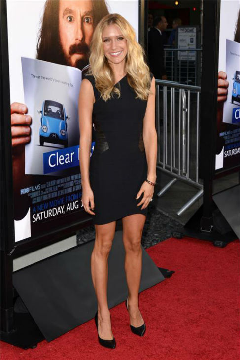 Kristin Cavallari attends the premiere of the HBO film 'Clear History' at the Cinerama Dome in Hollywood, California on July 31, 2013.