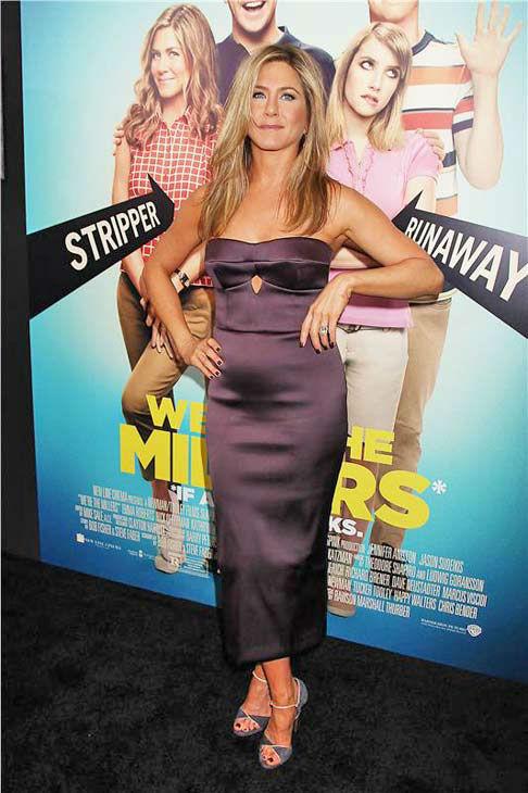 Jennifer Aniston appears at the premiere of &#39;We&#39;re the Millers&#39; in New York City on Aug. 1, 2013. <span class=meta>(Dave Allocca&#47;Startraksphoto.com)</span>