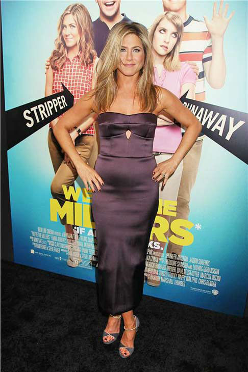 "<div class=""meta ""><span class=""caption-text "">Jennifer Aniston appears at the premiere of 'We're the Millers' in New York City on Aug. 1, 2013. (Dave Allocca/Startraksphoto.com)</span></div>"
